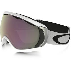 Oakley Canopy Gafas de Nieve, matte white/w prizm hi pink